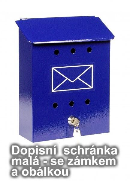 DOPISNÍ SCHRÁNKA MALÁ SE ZÁMKEM